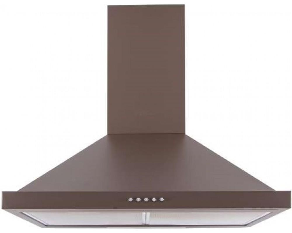 Кухонная вытяжка Ventolux LAZIO 60 BR (750) коричневая