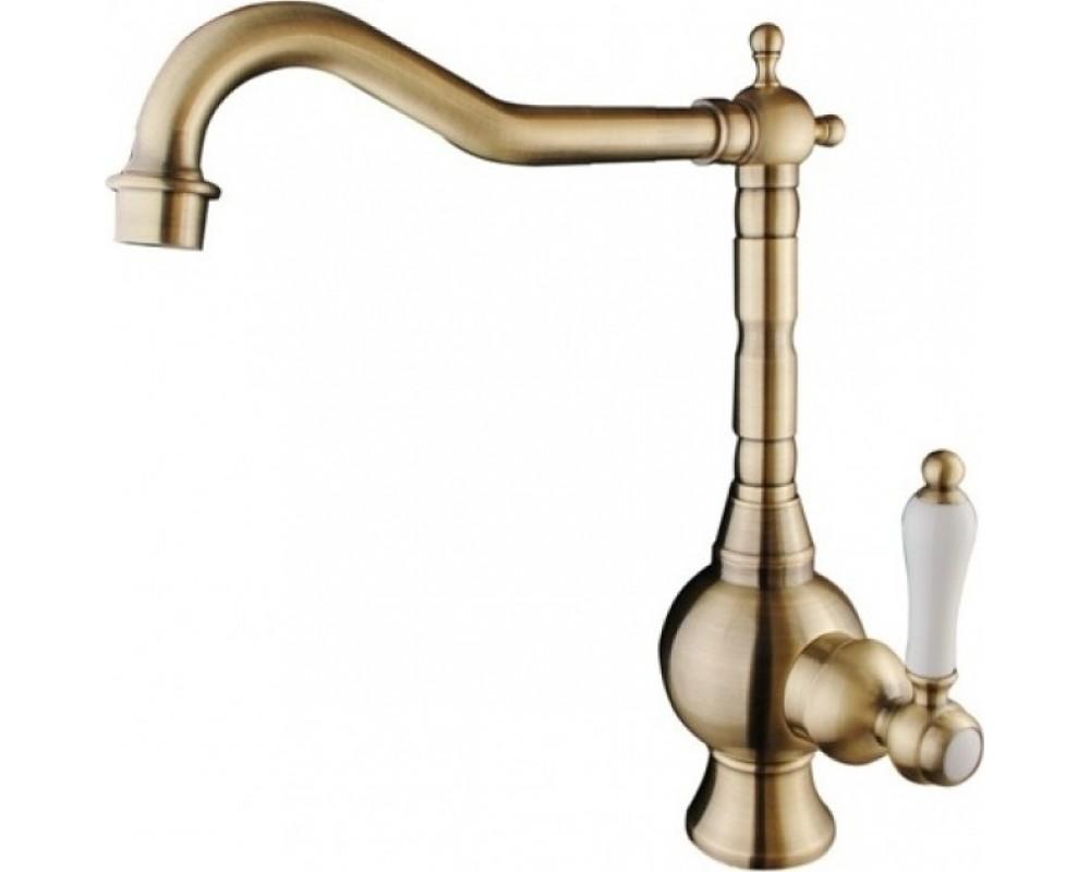 Кухонный смеситель Fabiano FKM 49 Brass Antique