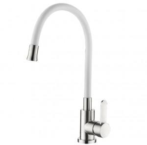 Кухонный смеситель Germece 74004-3 White