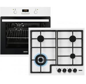 Комплект Духовой шкаф Zanussi OPZB4210W + Варочная поверхность Zanussi GPZ363SW