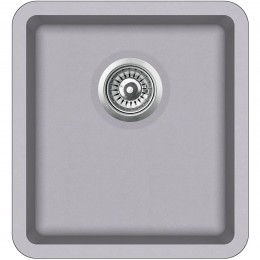Мойка AquaSanita Arca SQA101/ 202 alumetallic - Cold Grey