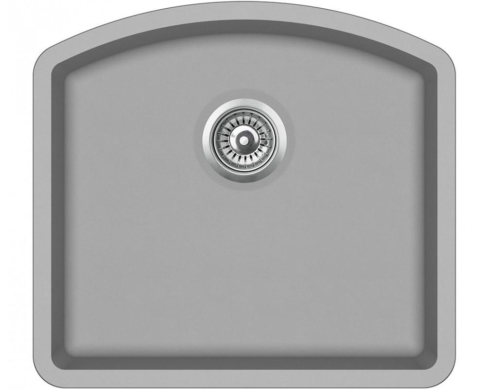 Кухонная мойка AquaSanita Arca SQA103/ 220 argent