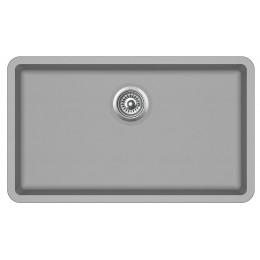 Мойка AquaSanita Arca SQA104/ 220 argent - Warm concrete