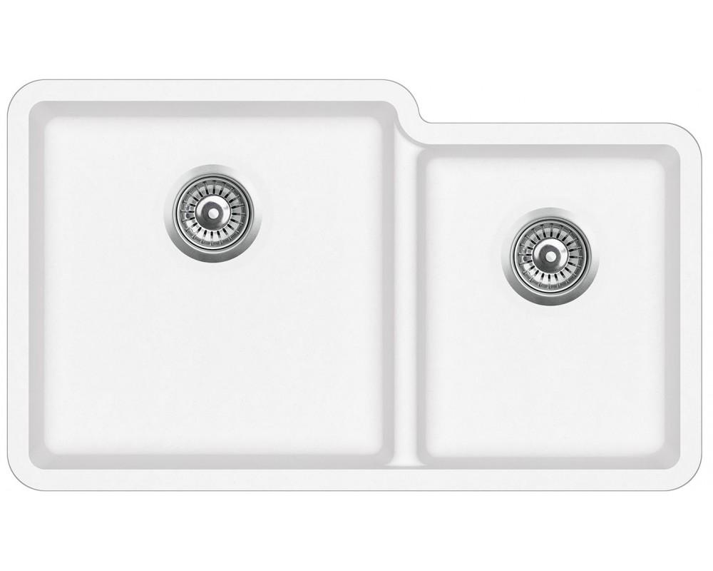 Кухонная мойка AquaSanita Arca SQA230L/ 710 alba