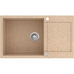 Кухонная мойка AquaSanita TESA SQT 104 - 112 Ora - Natural Stone