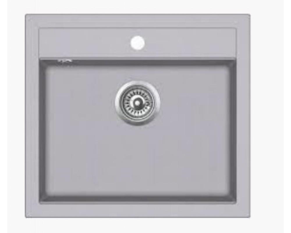 Кухонная мойка Argo Cubo 590 Light Gray