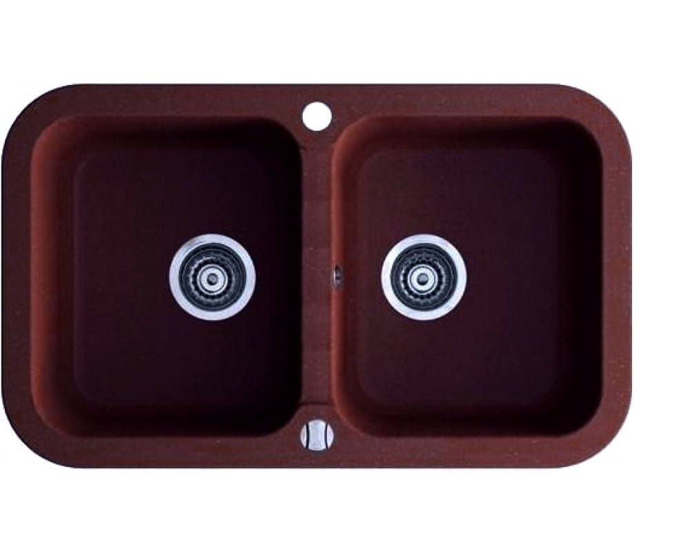 Кухонная мойка Argo Gemelli Brown
