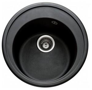 Гранитная мойка Argo Tondo 510 Black