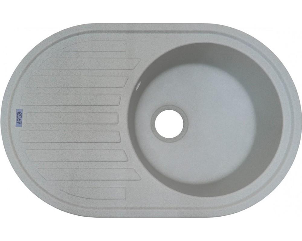 Кухонная мойка Argo Albero Gray
