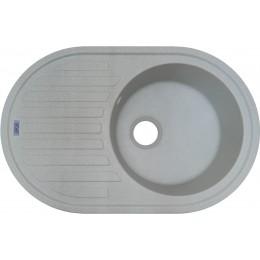 Гранитная мойка Argo Albero Light Gray