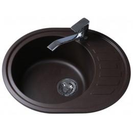 Кухонная мойка BRETTA Avalon 620 x 500 Brown