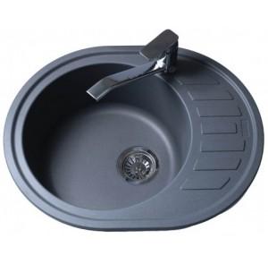 Кухонная мойка BRETTA Avalon 620 x 500 Metallic Gray