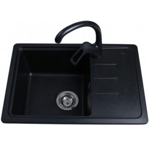 Кухонная мойка Bretta Compact Black