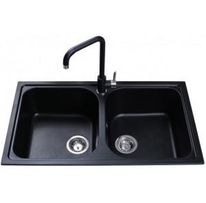 Кухонная мойка Bretta Longran Black