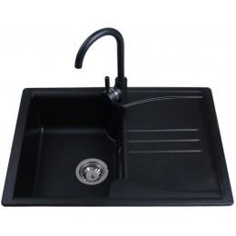 Кухонная мойка Bretta Niapoli Black