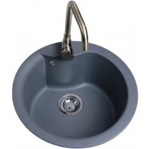 Кухонная мойка Bretta Rondo Gray Metallic