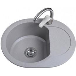 Кухонная мойка Bretta Round Gray Stone