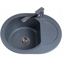Кухонная мойка Bretta Round Metallic Gray