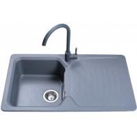Кухонная мойка Bretta Teka Metallic Gray