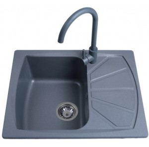 Кухонная мойка Bretta Tera Metallic Gray
