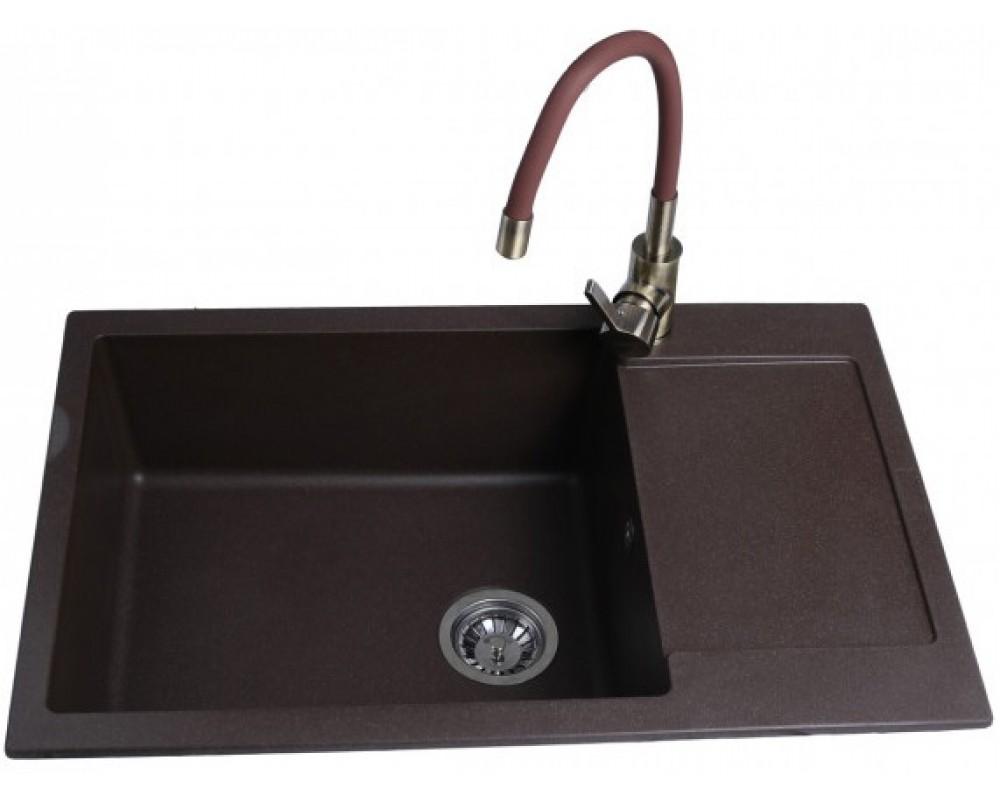 Кухонная мойка Bretta CORUM 780 x 500 Brown