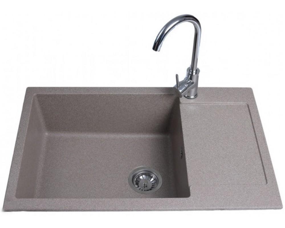 Кухонная мойка Bretta CORUM 780 x 500 Mokko