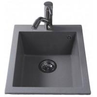 Кухонная мойка BRETTA Quadro 500 x 410 Gray Stone