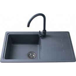 Кухонная мойка Bretta Telma-Venora 780 x 435 Metallic Gray
