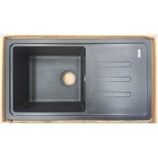 Кухонная мойка Bretta Telma 780 x 435 Black