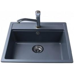 Кухонная мойка BRETTA UNIVERSAL 570 x 510 Metallic Gray