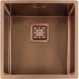 Кухонная мойка Fabiano Quadro 44 Nano Copper 1,2 мм