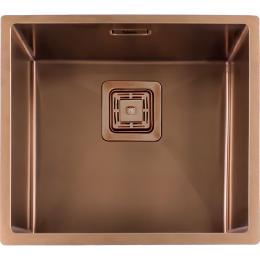 Кухонная мойка Fabiano Quadro 49 Nano Copper