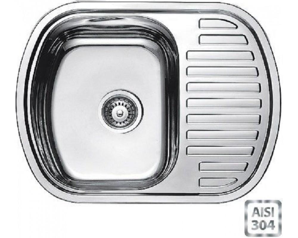 Мойка кухонная Fabiano BR 63x49 (матовая полировка)