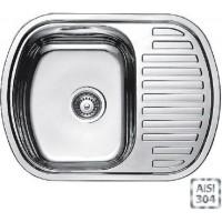 Кухонная мойка Fabiano BR 63x49 (матовая полировка)