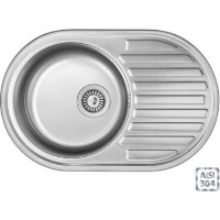 Кухонная мойка Fabiano BR 77x50 (матовая полировка)