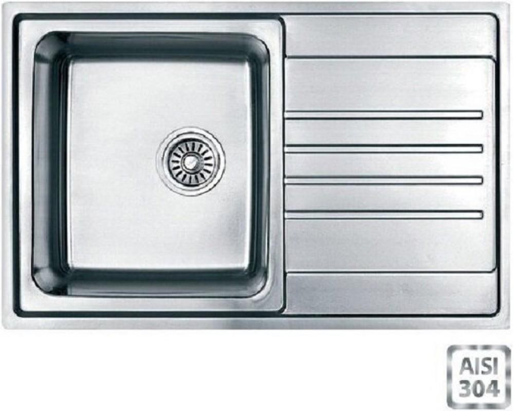Мойка кухонная Fabiano BR 78x50 S (матовая полировка)