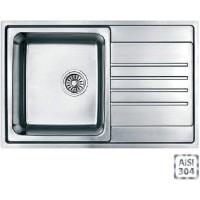 Кухонная мойка Fabiano BR 78x50 S (матовая полировка)