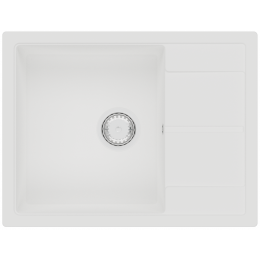 Кухонная мойка Fabiano Cubix 65 x 50 Alpine White