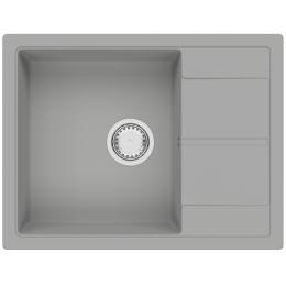 Кухонная мойка Fabiano Cubix 65 x 50 Grey Metallic