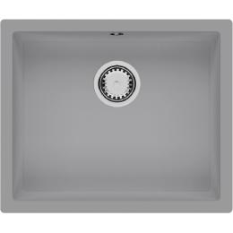 Кухонная мойка Quadro 55x46 Grey Metallic