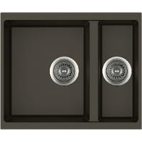 Кухонная мойка Quadro 56x46x15 Espresso