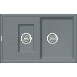 Кухонная мойка Classic 78x50x15 (Grey Metallic)