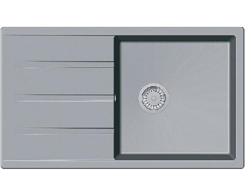 Каменная мойка Fabiano Classic 86x50 XL Grey Metallic