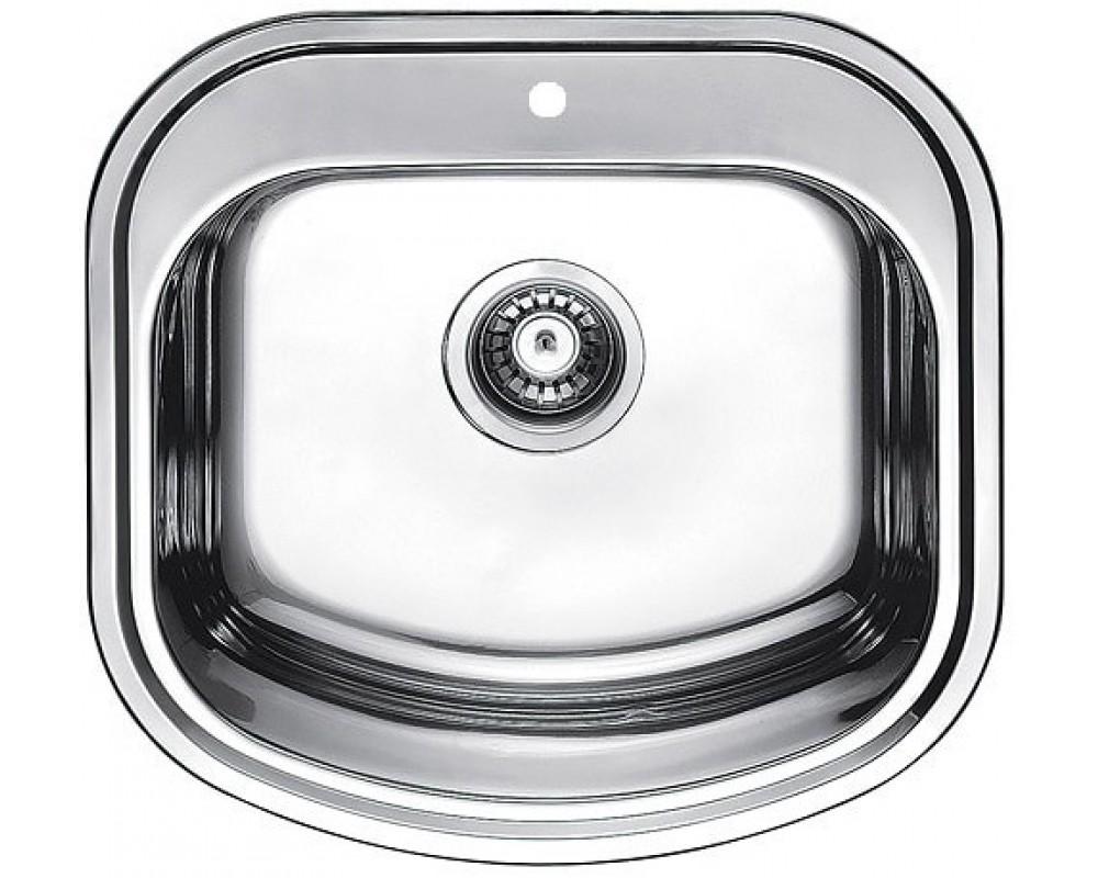 Кухонная мойка из нержавейки Fabiano 490*470 Сатин