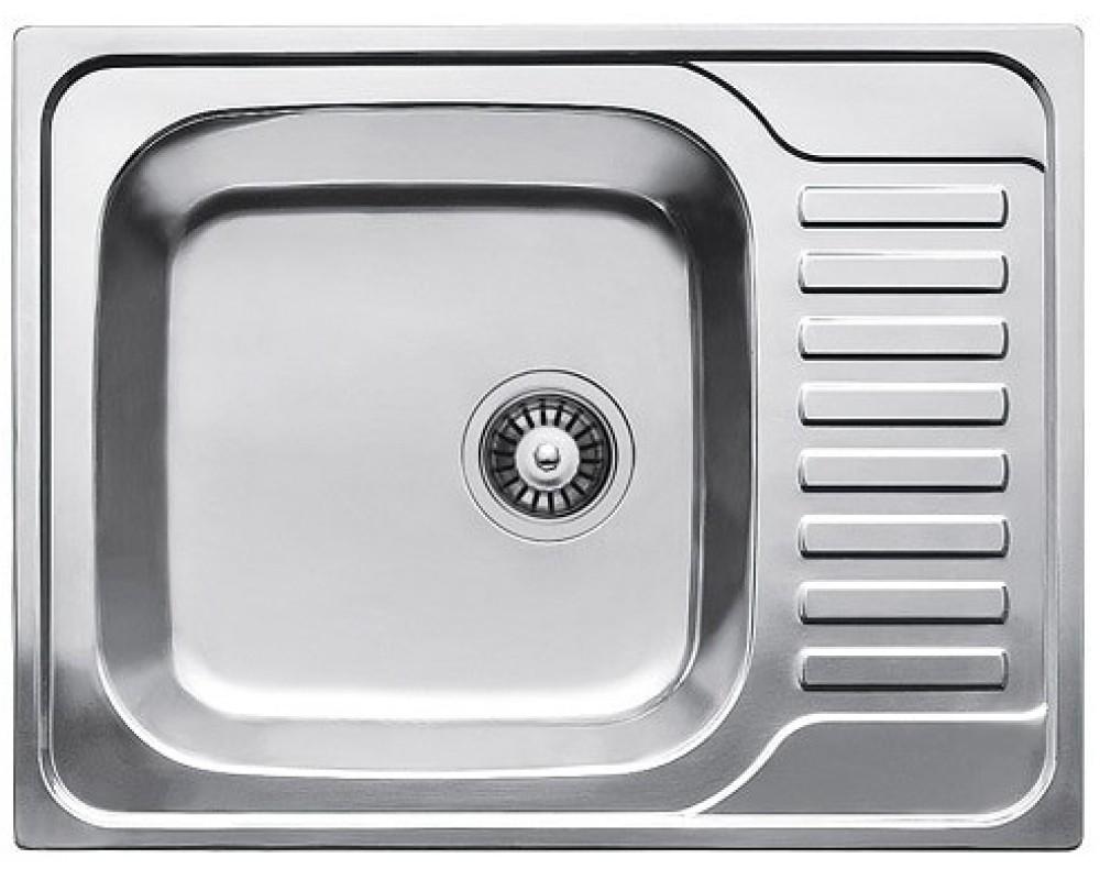 Мойка кухонная Fabiano 650*500 Сатин