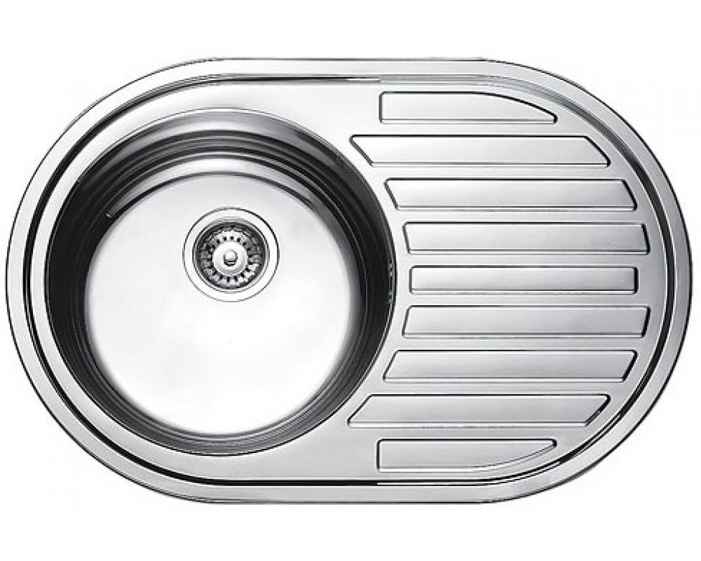 Мойка кухонная Fabiano 770*500 Микродекор