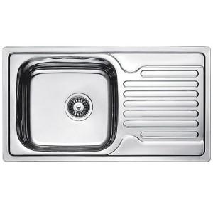 Кухонная мойка Fabiano 780 x 430 Сатин