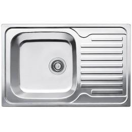 Кухонная мойка Fabiano 780 x 500 Сатин