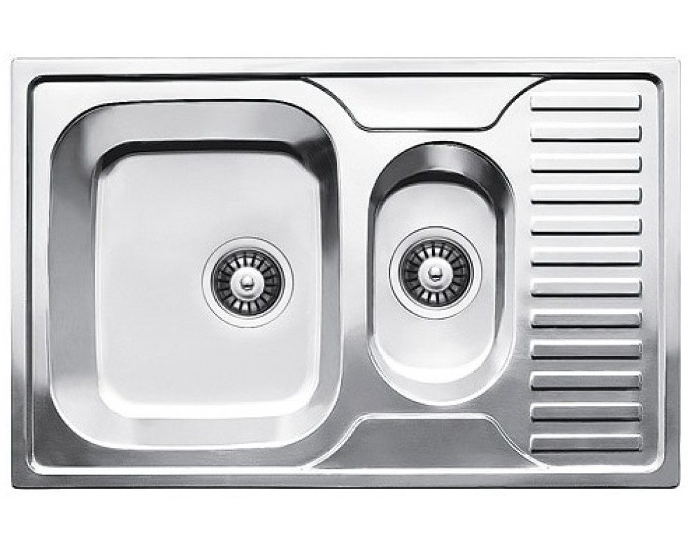 Мойка кухонная Fabiano 780*500*15 Микродекор