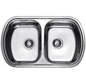 Кухонная мойка Fabiano 800 x 490 x 2 Микродекор